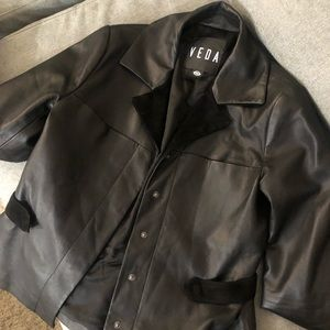 GORGEOUS Veda leather jacket size small